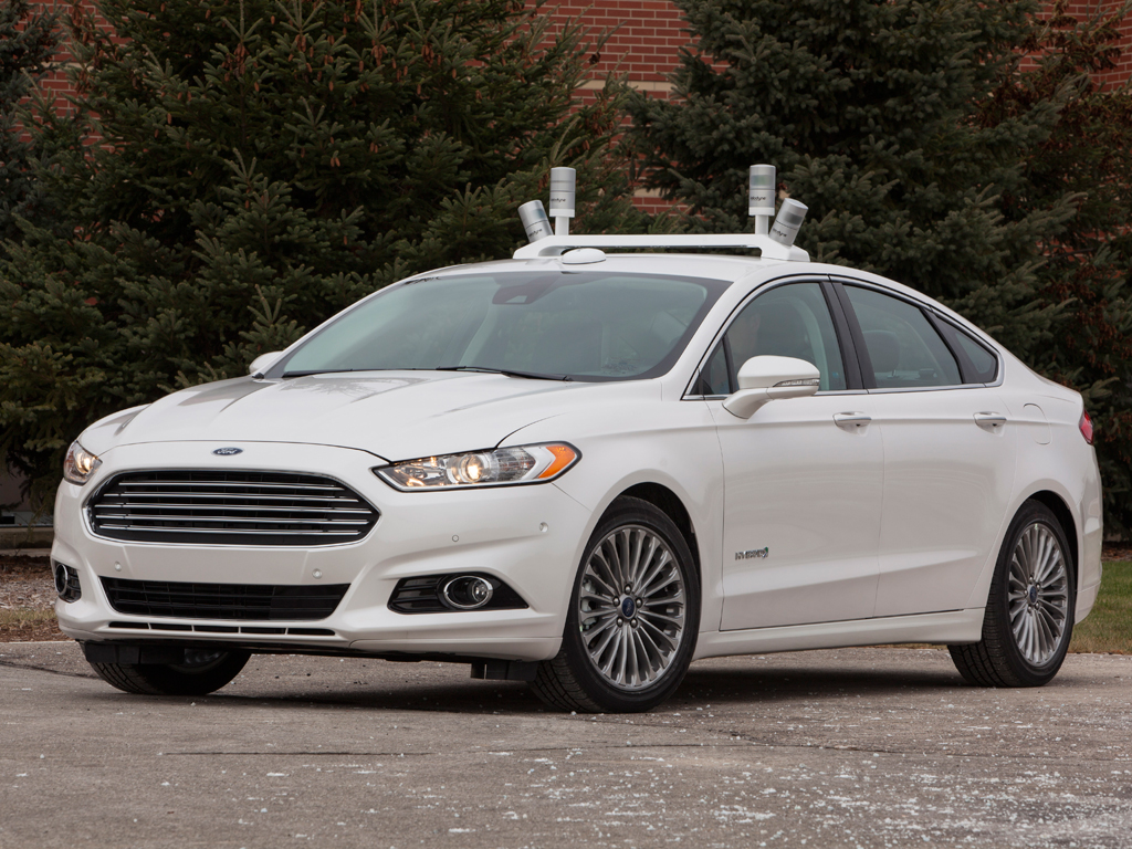 Ford Fusion Test Vehicle